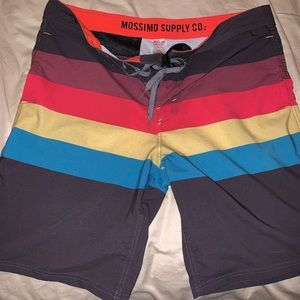 Mossimo supply co. size 38 swim trunks